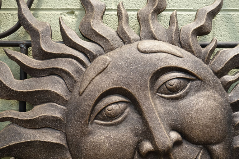 Sun Faces for Boulder gardens