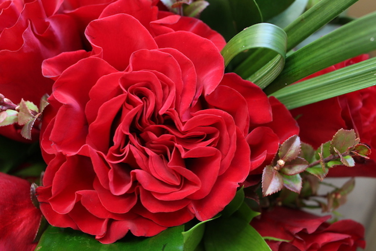 Red rose Valentine Arrangement