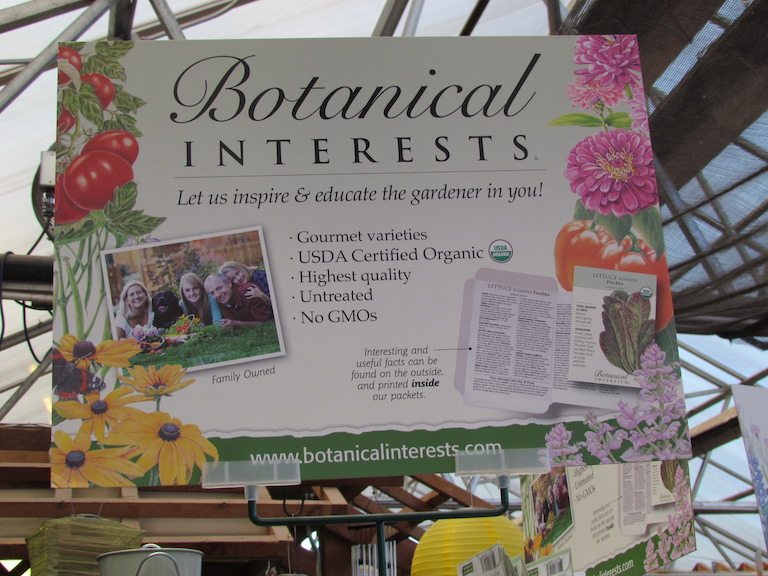 Botanical Interests Heirloom Seeds