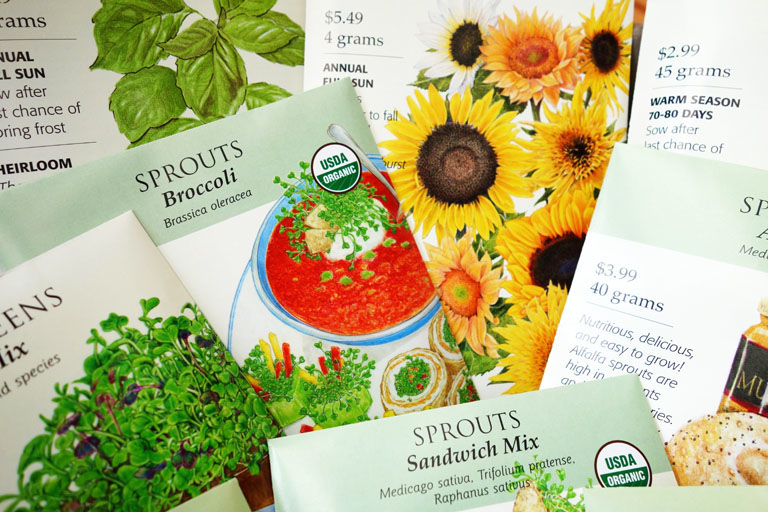 Botanical Interests Seeds for Sprouting