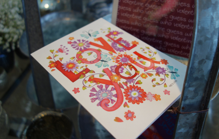 Valentine's Cards in Boulder Colorado
