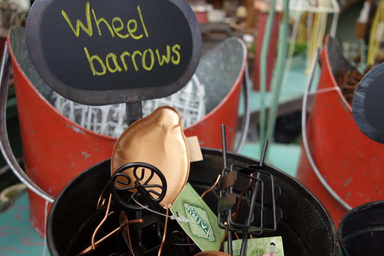 Wheel Barrows for Fairy Gardens