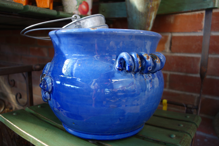 Ceramic Blue Pottery