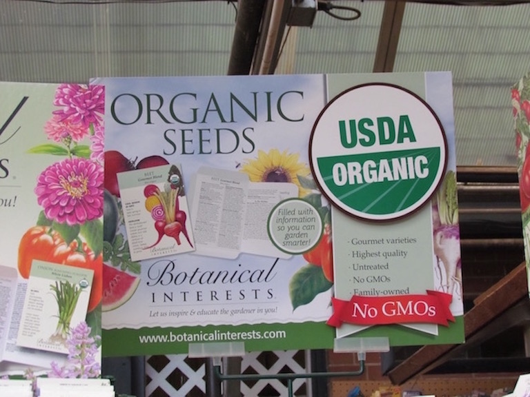 Organic Seeds from Botanical Interests