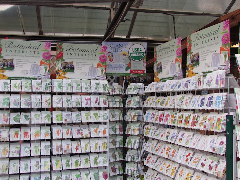 Check out the many new varieties of vegetable seeds