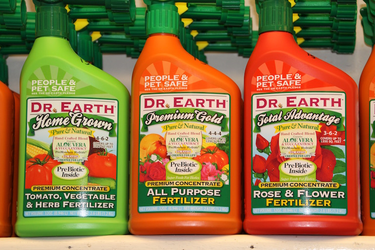 Dr. Earth People and Pet Safe Plant Fertilizers