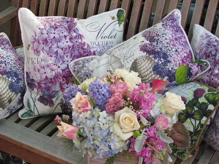 Michel Design Works Lilacs and Violets