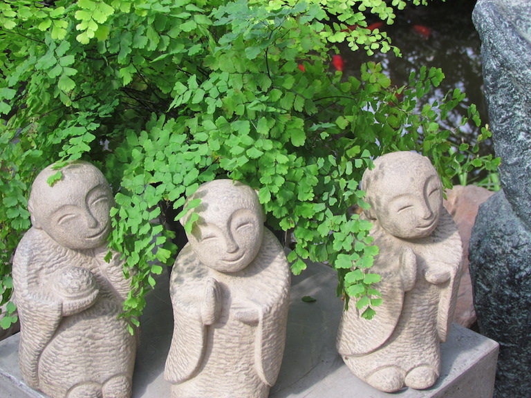 Jizo, the protector of women and children and travelers