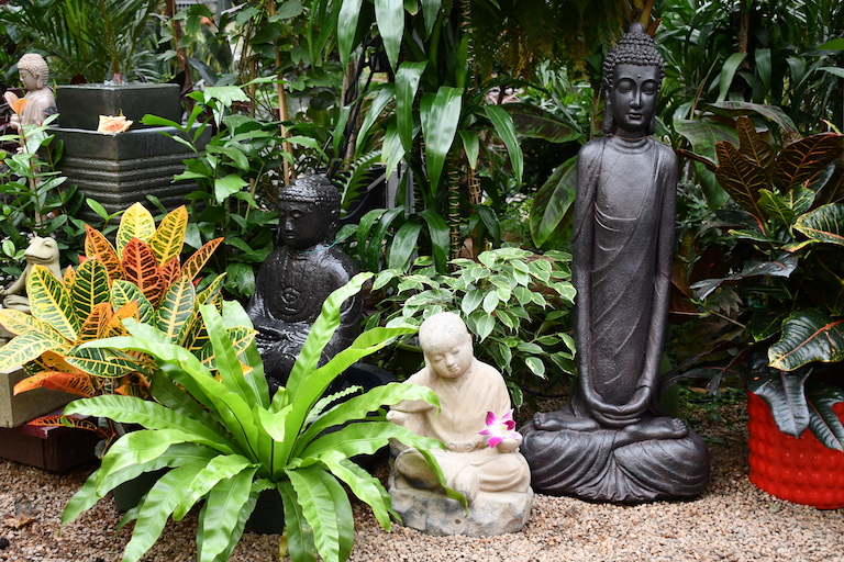 Buddha sculptures for indoors and out