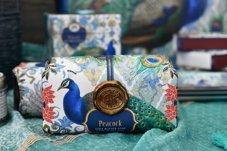 Peacock Shea Butter Soap by Michele Designs