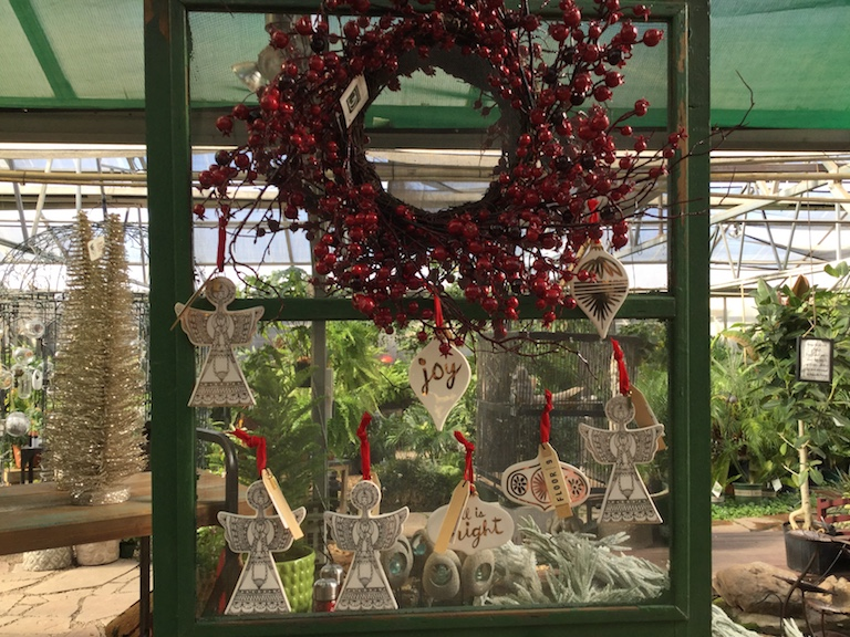Artificial Cranberry Wreath