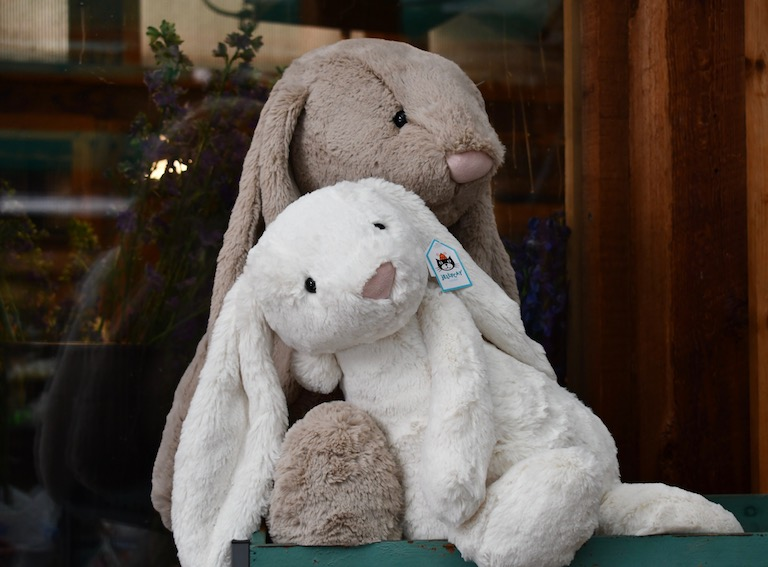 Soft and cuddly Jellycat bunnies